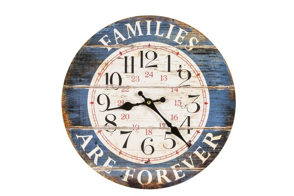 Orologio piccolo shabby families are forever